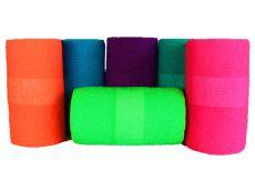 Bande cohésive couleurs fluos, lot de 18