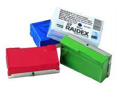 Bloc marqueur RAIDEX pour harnais - Bleu