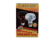 Ampoule Helios IR à vis blanche 100W