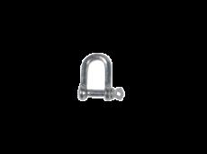 Manille galvanisée, diamètre 8 mm