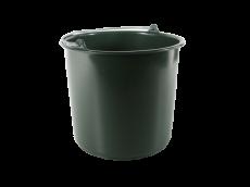 Seau plastique vert 7l