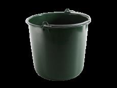 Seau plastique vert 12l