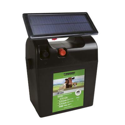Poste pile CLASSIC P180 avec panneau solaire BEAUMONT