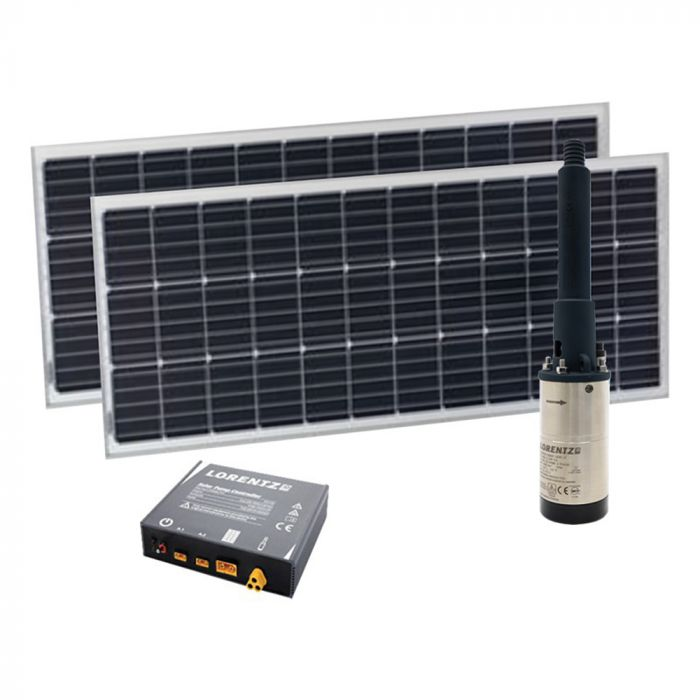 Kit de pompage solaire – Kit complet 0-10m