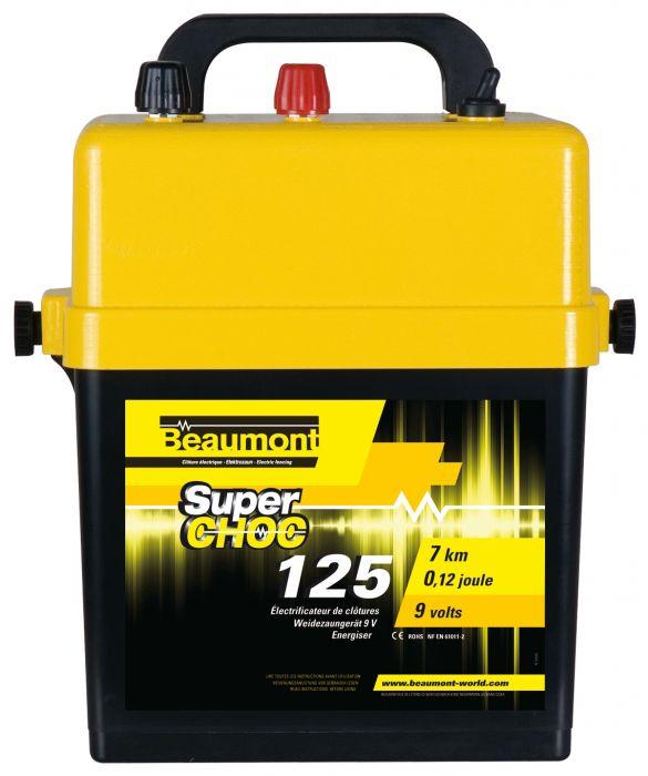 Poste à piles 9 V Superchoc 125 BEAUMONT