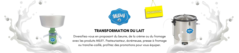 Promotion MILKY - Coffia