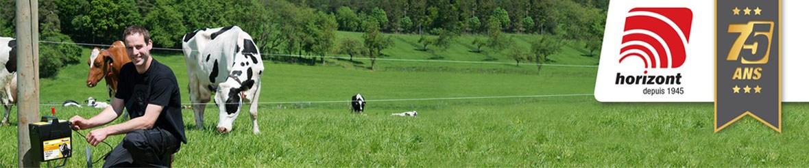 horizont, clôture électrique et matériel d'élevage